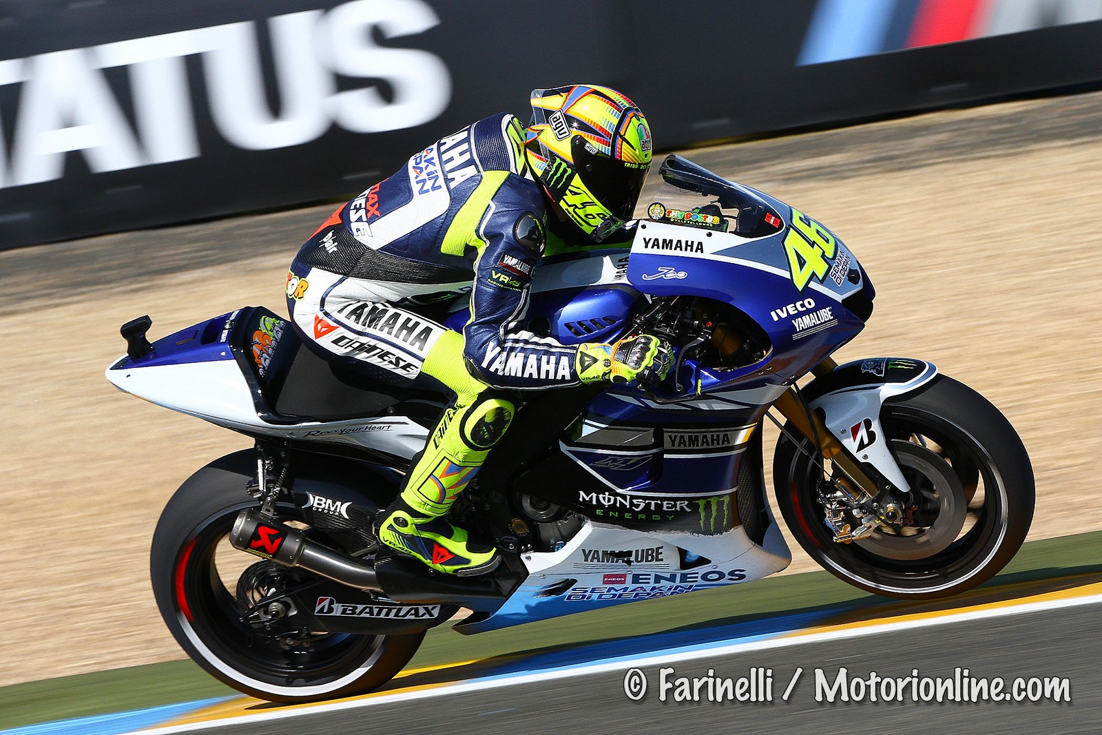 ... will broadcast the 2015 and 2016 MotoGP seasons Image: www.motogp.com