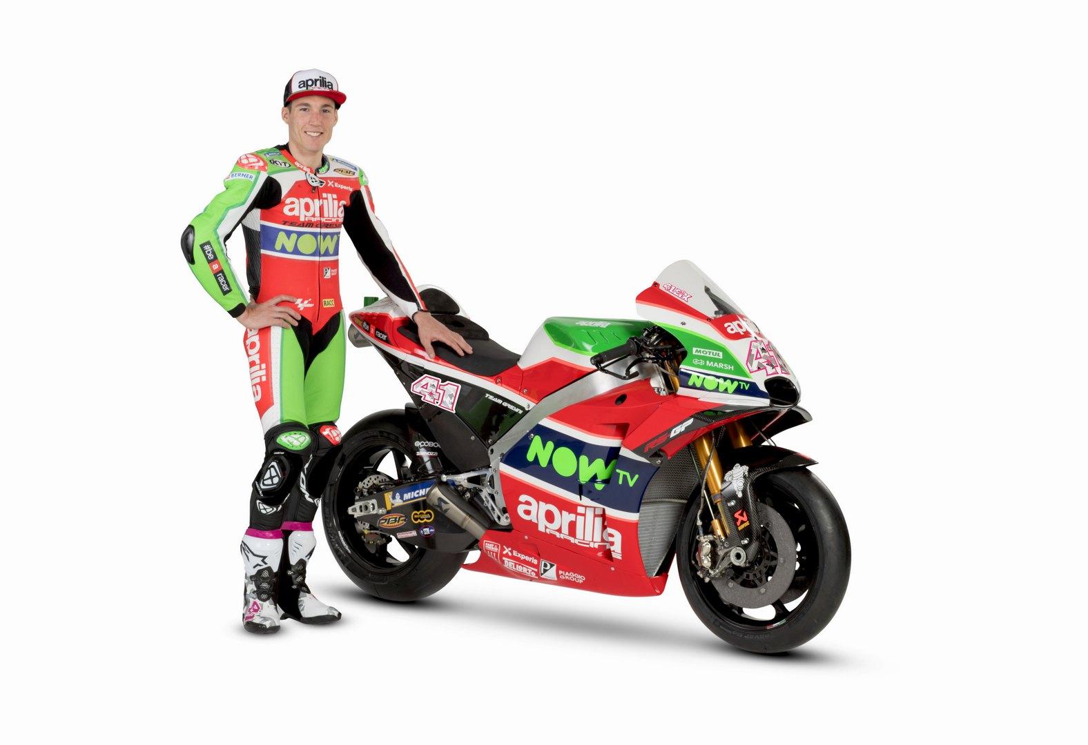 Aprilia RSGP 2018 - Foto MotoGP alta risoluzione 16 di 44