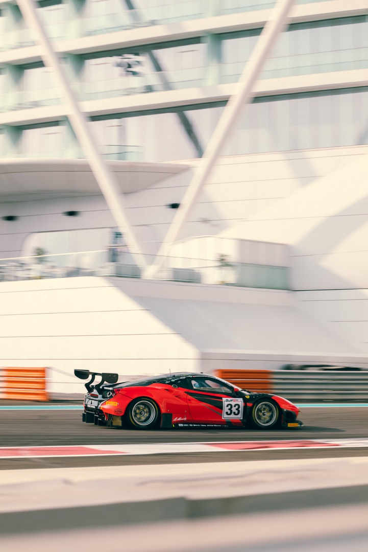 12 ore Abu Dhabi VR46 Kessel