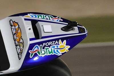 MotoGP – Valentino Rossi omaggia l'Abruzzo