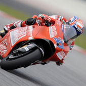 MotoGP – Test Sepang Day 2 – Stoner davanti a Capirossi e Rossi