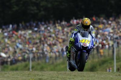 """MotoGP – Brno QP1 – Valentino Rossi: """"Importante non essermi fatto male"""""""