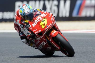 250cc – Barcellona – Bautista vince con la scivolata di Simoncelli