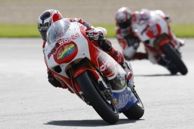250cc – Donington Park QP1 – Barbera beffa Simoncelli