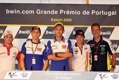 MotoGP – Previes Estoril – La conferenza stampa
