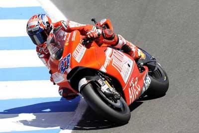 """MotoGP – Preview Estoril – Casey Stoner: """"Non vedo l'ora di tornare e pensare al futuro"""""""