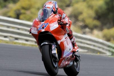 """MotoGP – Jerez Day 1 – Stoner: """"Dobbiamo migliorare alcuni aspetti"""""""