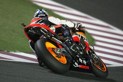 MotoGP – Losail Day 1 – Problemi al ginocchio per Dani Pedrosa