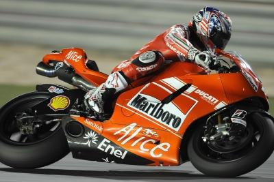 MotoGP – Losail QP1 – Nicky Hayden in forse per la gara