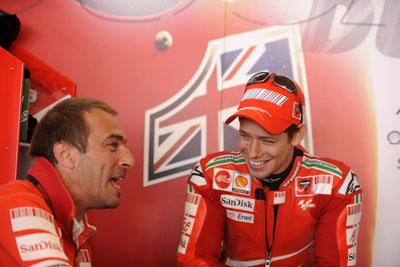 MotoGP – Casey Stoner elogia la nuova Ducati GP9