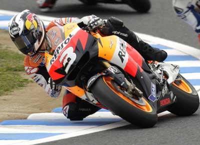 MotoGP – Motegi Day 1 – Difficoltà di messa a punto per Dani Pedrosa