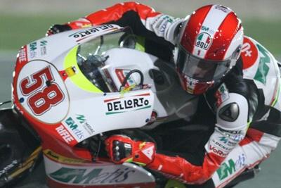 250cc – Motegi FP1 – Marco  Simoncelli sorprende in testa