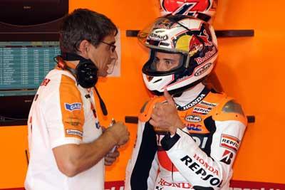 MotoGP – Sachsenring Day 1 – Andrea Dovizioso prova il nuovo motore