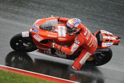 MotoGP – Sachsenring QP1 – Casey Stoner in prima fila