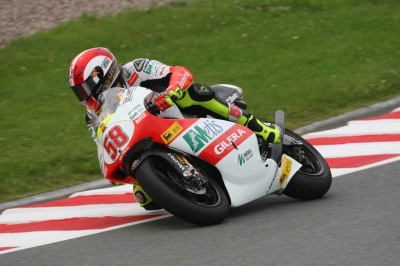 250cc – Sachsenring – Vince Marco Simoncelli, Bautista terzo