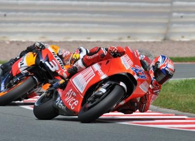 MotoGP – Sachsenring – Casey Stoner soddisfatto della quarta posizione