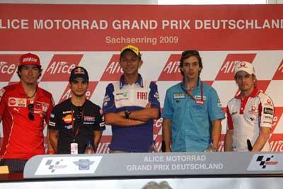 MotoGP – Preview Sachsenring – La conferenza stampa