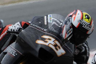 MotoGP – Test Barcellona – Brutta caduta per Marco Melandri