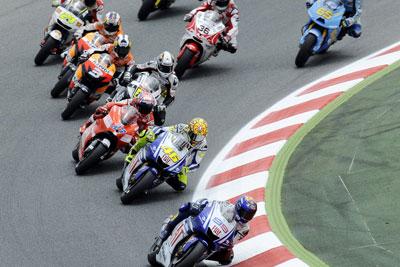MotoGP – Test Barcellona – Parola a Dovizioso, Rossi, Lorenzo e Stoner