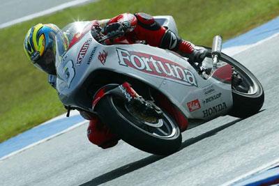 Moto2 – Roberto Rolfo prova a Valencia con il Team Laglisse