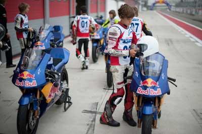 125cc – Selezionati i piloti della Red Bull MotoGP Rookies Cup 2010