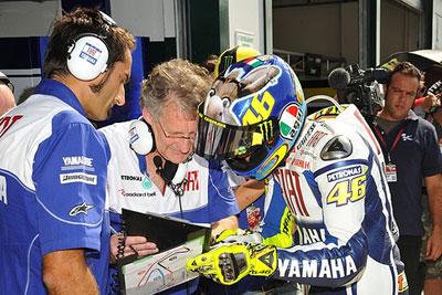 MotoGP – Per Jeremy Burgess Valentino Rossi non è mai stato così in forma