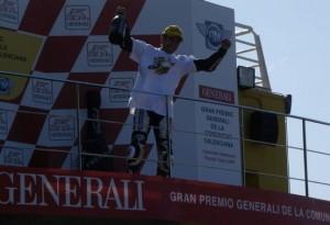 """250cc – Valencia – Hiroshi Aoyama: """"Oggi si realizza un sogno lungo 23 anni"""""""
