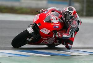 """MotoGP – Test Jerez Day 1 – Il maltempo """"rovina' i piani di Barbera e della Ducati"""