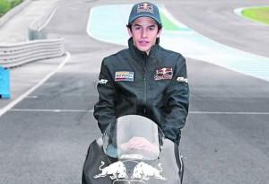 125cc – Marc Marquez chiude con soddisfazione i test di Jerez