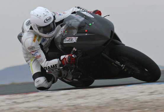 Moto2 – Gino Rea prova la FTR ad Almeria