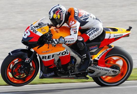 """MotoGP – Valencia QP1 – Dani Pedrosa: """"Sono molto contento di essere in prima fila"""""""