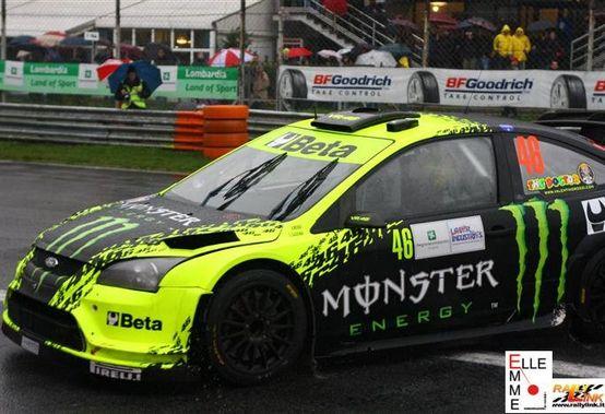 Valentino Rossi secondo al Rally di Monza