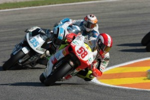 250cc – Valencia Warm Up – Simoncelli 1°, Aoyama 3°