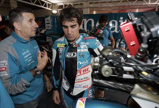 Moto2 – Il Team Aspar sarà in pista a Valencia con o senza Aprilia