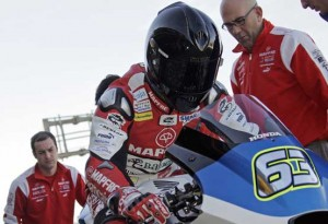 Moto2 – Test Valencia Day 1 – Sensazioni differenti per Julian Simon e Mike Di Meglio