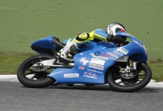 """125cc – Marco Ravaioli porta in pista la """"Lambretta"""""""
