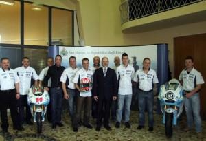 Presentato il WTR San Marino Team