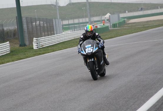 Moto2 – Test Jerez Day 3 – Alex De Angelis si esalta sul bagnato