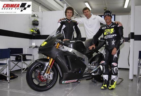 Moto2 –  Il Crimea Grand Prix sponsor del Team Gresini