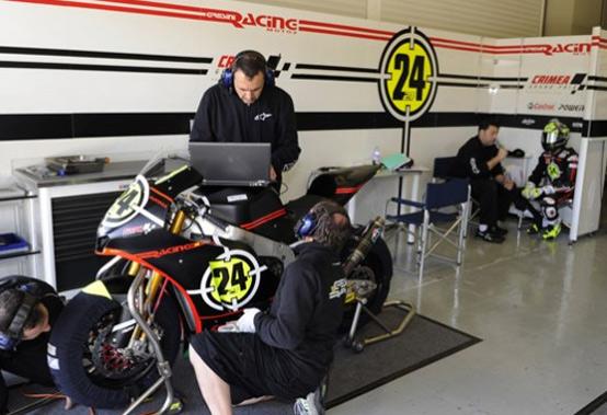 Moto2 – Test Jerez Day 3 -Toni Elias cade e si ferisce