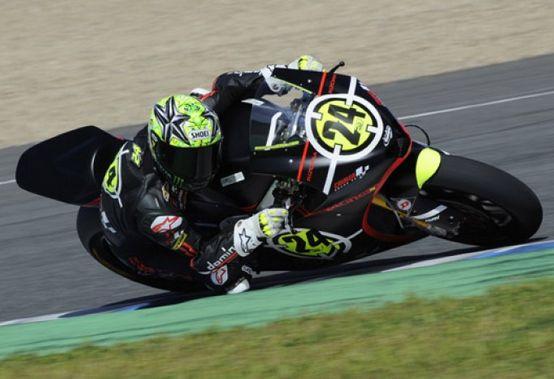 Moto2 – Test Jerez Day 1 – Toni Elias precede, Yonny Hernandez e Jules Cluzel