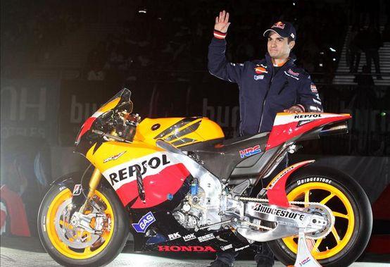 MotoGP – Presentato a Madrid il Team Honda Repsol, assente Andrea Dovizioso