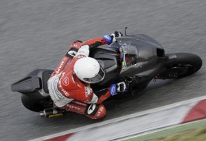 Moto2 – Test Valencia Day 1 – Toni Elias precede Julian Simon