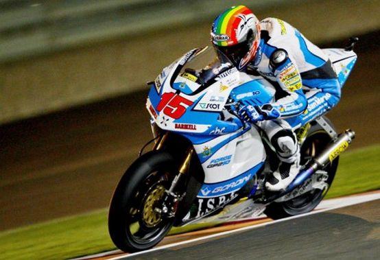 Moto2 – Losail Prove libere 1 – Alex De Angelis in prima posizione