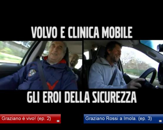 """Volvo e Clinica Mobile – 1982, la caduta e il """"salvataggio"""" di Graziano Rossi"""
