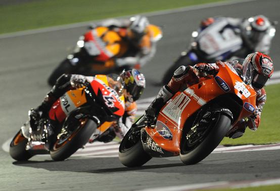 MotoGP – Losail Gara – Nicky Hayden sfiora il podio