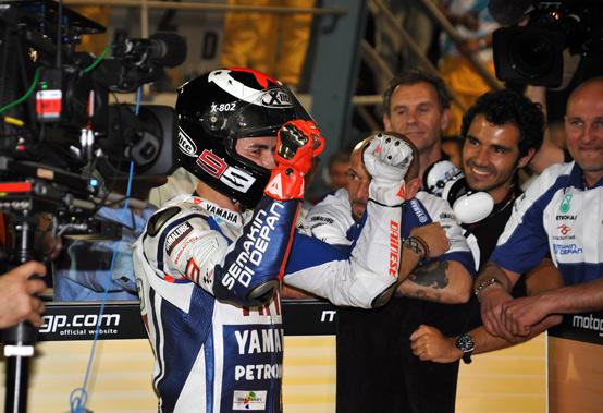 """MotoGP – Losail Gara – Jorge Lorenzo: """"Ho dovuto staccare il cervello e guidare con il cuore"""""""