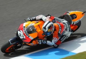 MotoGP – Jerez Day 1 – Dani Pedrosa quarto con il nuovo telaio