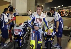 MotoGP – Losail Gara – Microfono a Rossi, Lorenzo e Dovizioso