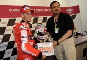 """MotoGP – Losail Qualifiche – Casey Stoner: """"Sono davvero contento"""""""